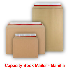 Cardboard Capacity Book Mailers Board All Sizes Envelopes Amazon Style
