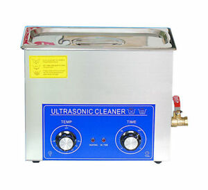 3 2l 120w 220v Ultrasonic Cleaner With Timer Heater Mechanical Free Basket