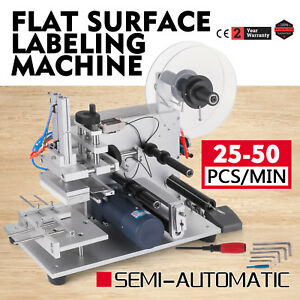 Semi automatic Labeller Lt 60 Labeling Machine 110v Flat Surface Tool Useful