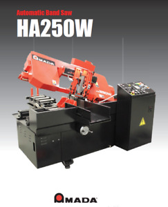 Amada Ha 250w 230 460 Horizontal Band Saw 2018 Brand New W Warranty