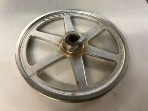 Hobart Genuine Replacement Meat Saw 16 Upper lower Blade Wheel Used Condition