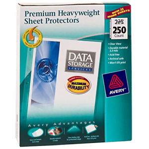 Thick Sheet Protectors Heavy Duty Clear Documents 8 5 X 11 250 Pcs