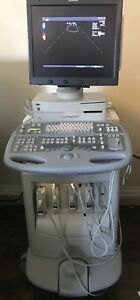 Acuson Sequoia C512 Ultrasound Machine With 4v1c 8v3 10v4 6l3 And 2 0 Mhz