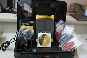 Fluke 199c Scopemeter 200mhz 2 5gsa s W View Form Software And Cable
