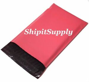 1 1000 7 5x10 Pink Color Poly Mailers Shipping Boutique Bags Fast Shipping