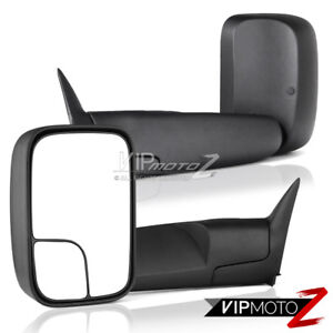 L r Side View Heavyduty 94 01 Dodge Ram 1500 2500 Truck Towing Mirrors Assembly