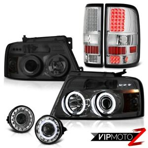 06 08 Ford F150 Xlt Sterling Chrome Foglights Taillights Headlights 2x Ccfl Halo