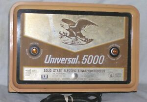 Fencer Fence Charger Universal Model 5000 Ac Used