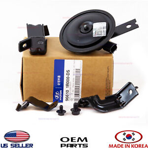 Horn Low Pitch Genuine Hyundai Accent 2012 2013 966101r000