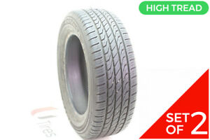 Set Of 2 Used 215 60r16 Toyo Extensa As 94t 10 11 32