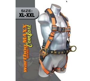 Warthog Maxx Comfort Construction Harness With Belt Side D rings b2203 Xl xxl