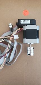 Applied Motion Ht17 075 2 phase Hybrid Step Motor With E5 Optical Kit Encoder