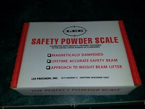 Lee Safety Powder Scale Reloading Beam Scale