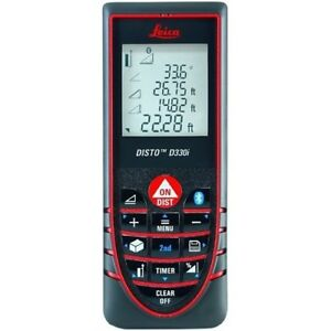 Leica Disto D330i Laser Distance Meter Up To 330 Ft Range