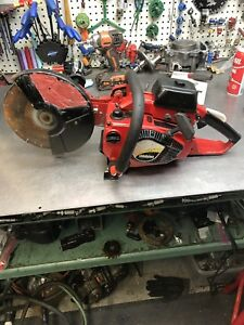 Shindaiwa Ec350 cutquik 9 Gas Powered Concrete Cut off Saw Wet dry