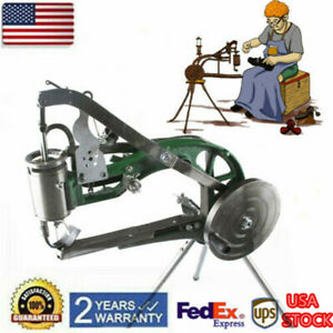 Manual Leather Cobbler Shoes Repair Machine Nylon Line Sewing Machine Shoemaker