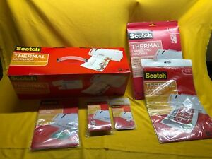 New Scotch 3m Thermal Laminator Tl902 Nib W 137 Pouches Fast free Shipping