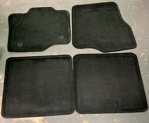 New Oem Set Black gray F150 Supercrew 15 18 Floor Mats fl3b 18130d00 aa3ja6