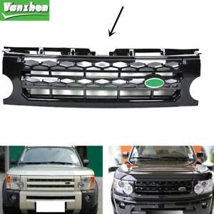 Fit For Land Rover Discovery Lr3 2005 2009 Black Front Grille Replace Trim