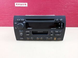 2000 2001 Cadillac Catera Stereo Radio Am Fm Cd Cassette Player 16258146 Oem