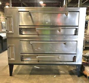Marsal Sd 1060 Double Stack Pizza Baking Deck Oven