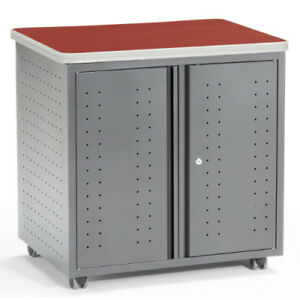 Mesa Series Mobile Locking Utility fax copy Table 30 X 23 25 Ofm66746chy