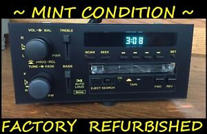 Gm Delco Camaro 90 91 92 Yellow Face Cassette Radio Chevy Z28 Rare Factory Ref