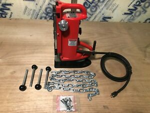 Electromagnetic Drill Press Base Adjustable Position 12 5 amp Milwaukee 4203