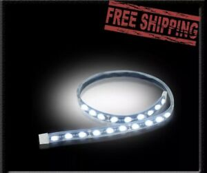 Recon Flexible Waterproof Led Lighting Strips 15 In White Part 264704wh New