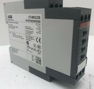 Abb Multifunction Timer Relay 1svr730030r3300 Type Ct mxs 22s Time Delay On Off