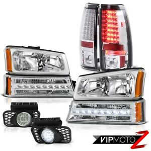 2003 2006 Chevy Silverado 2500hd Fog Lamps Rear Brake Parking Light Headlamps