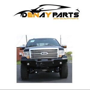 For 2009 2014 Ford F 150 Premium Winch Front Bumper Fab Fours Ff09 h1951 1