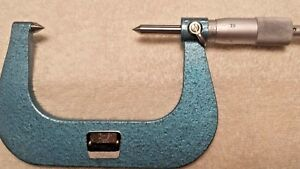 Fowler 2 3 Point Micrometer Vintage