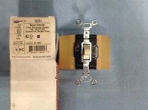 Legrand pass Seymour 1222 Switch Manual Control 15a 120 277v dpdt