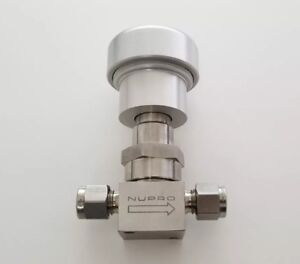 Nupro Swagelok New Stainless Steel Bellows Sealed Valve 1 4 In Ss 4bk91no