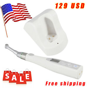 Worldwide Use Cordless Dental Endo Motor Root Canal Mate 16 1 Reciprocate Head