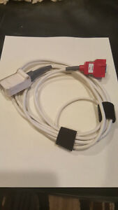 Used Masimo Red Lnc 10 Lncs 10ft 3m 20 pin To 9 pin Spo2 Patient Adapter Cable