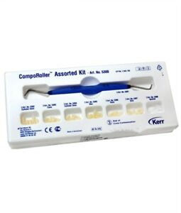 Dental Kerr Comporoller Composite Modeling Instrument 5300 Assorted Kit