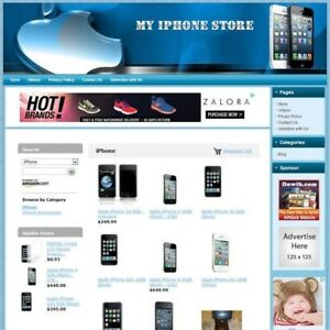 Iphone Store Professionally Designed Fully Functional Affiliate Website Hot
