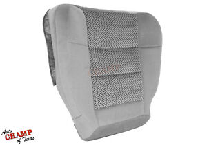 2003 Ford F150 Xlt Extended cab X cab driver Side Bottom Cloth Seat Cover Gray
