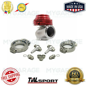 Tial Mvs Red 38mm Wastegate With V band And Flanges Mv s 002955