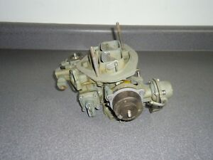 Reman Holley 6500 2 Barrel Carburetor 9299 1980 Ford 2 3l Mustang Mercury Capri