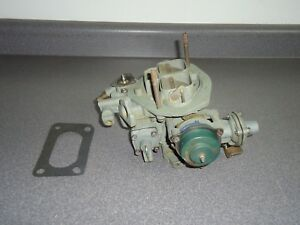 Reman Holley 5200 2 Barrel Carburetor 9337 1981 Ford 2 3l Mustang Mercury Capri