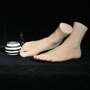 Flexible Life Size Male Mannequin Foot Shoes Display Massage Practice Model