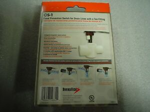 Factory Sealed Diversitech Cs 1 Pipe Flood Prevention Switch 60 Day Warranty