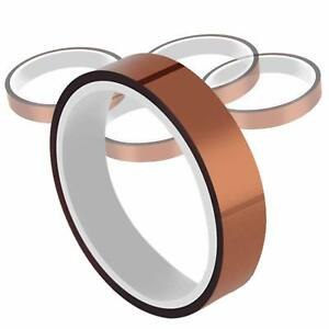 Kapton Electrical Tape Polyimide High Temp With Silicone Adhesive 1 2 12mm