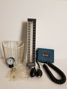 Baum Baumanometer Blood Pressure Wall Unit 33 No 0850 Unused W Harware An Basket
