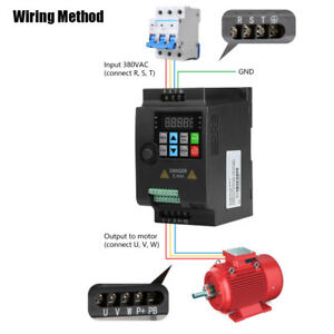 2 2kw Single To 3 Phase Variable Frequency Drive Inverter Ac Motor Speed Control