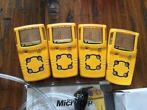 Gas Monitor Detector Meter H2s lel co o2 New Oxy Microclip Xt Calibrated
