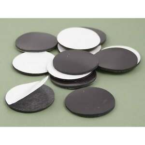 Large 40mm X 2mm Self Adhesive Flexible Disk Magnet Craft Fridge Var packs